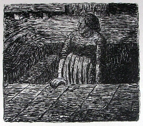 Ernst Barlach: ›The Dead Day‹Image Series of 27 Lithographies on E. Barlach's Drama ›The Dead Day‹